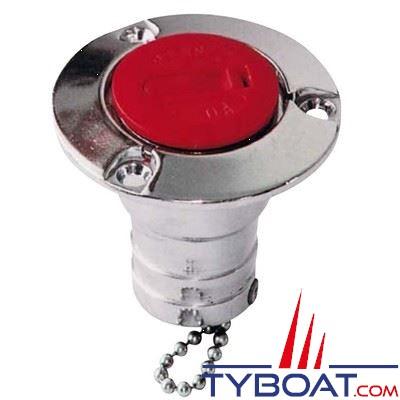 Nable aluminium Plastimo ESSENCE pour tuyau Ø 38 mm + bouchon plastique