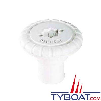 Nable polyamide plastimo diesel pour tuyau 51 mm bouchon polyamide blan - Bouchon pour tuyau d eau ...