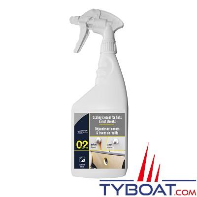Nautic-Clean - 02 - Déjaunissant coque -  750 ml (vaporisateur)
