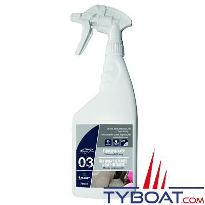 Nautic-Clean - 03 - Nettoyant Défenses et Pare-battages -  750 ml (vaporisateur)
