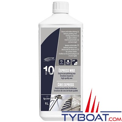 Nautic-Clean - 10 - Cire express -  1 litre