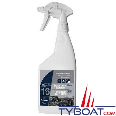Nautic-Clean - 16 - Dégraissant Cale et moteur -  750 ml (vaporisateur)