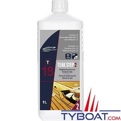 Nautic-Clean - 18 - Nettoyant TEAK STEP 2 - 1 Litre