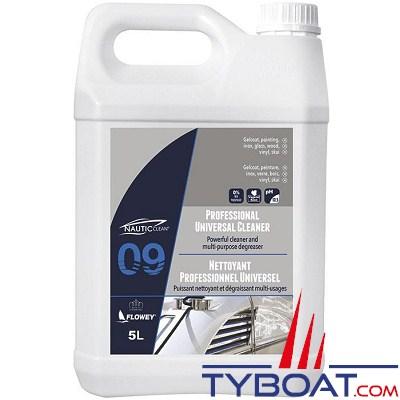 NAUTIC CLEAN - Nettoyant professionnel universel - bidon 5 litres.
