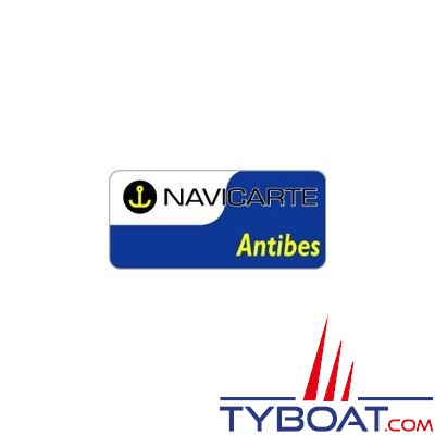 Navicarte plastifiée format A3 - Antibes