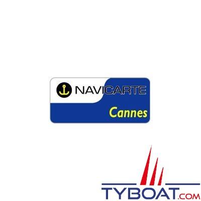 Navicarte plastifiée format A3 - Cannes