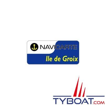 Navicarte plastifiée format A3 - Île de Groix