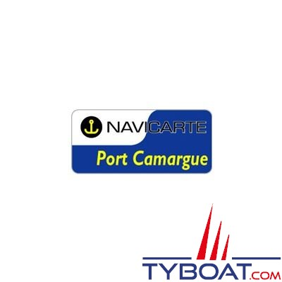Navicarte plastifiée format A3 - Port Camargue