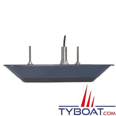 LOWRANCE / B&G / SIMRAD - Sonde TOTALSCAN traversante - Médium/High CHIRP / 455/800 kHz