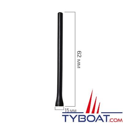 Navicom - Antenne de rechange pour VHF RT420, RT420 DSC, RT430 BT, RT411