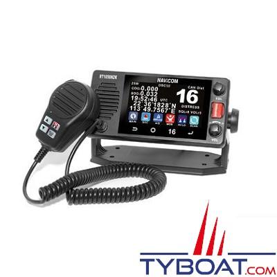 Navicom - RT1050-AIS - VHF fixe 25watts, écran tactile, NMEA2000 et récepteur AIS
