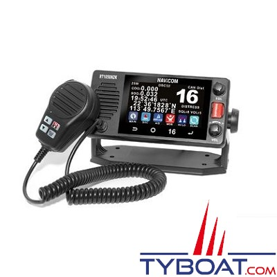Navicom - RT1050 - VHF fixe 25watts, écran tactile, NMEA2000
