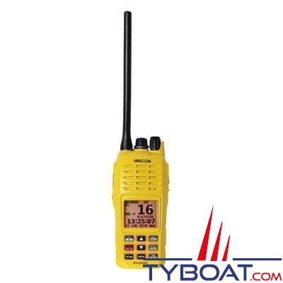 NAVICOM - RT420DSC+ - VHF portable avec GPS - 5 Watts - Etanche  IPX-7 - Flottante