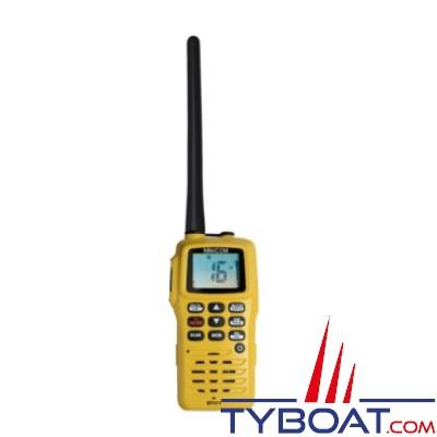 Navicom - VHF portable 5W - Etanche IPX6 et flottante complète
