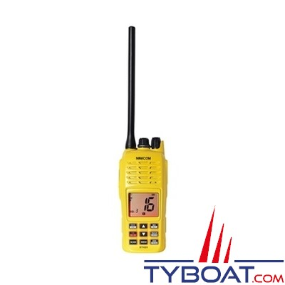 Navicom - VHF portable RT420+ - 5 Watts - Flottante - Etanche - Flasher