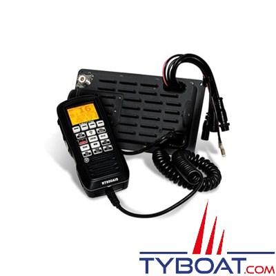 Navicom - VHF RT850 -  VHF Fixe DSC 25W- Boite noire avec combiné déporté- NMEA 0183- Noire