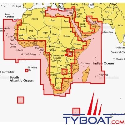 Navionics - Carte marine Navionics+ - 30XG  Afrique et Moyen Orient