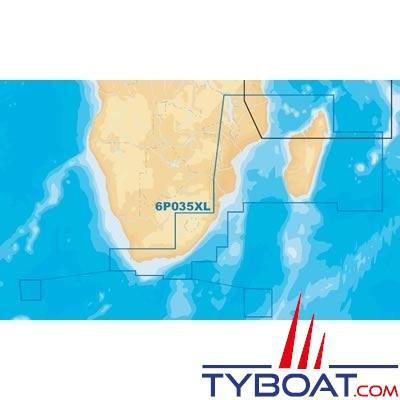 Navionics - Carte marine Platinum+ XL - Zone 6P035XL - Afrique du Sud, Madagascar