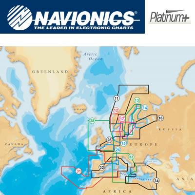 Cartes Navionics Platinum+ XL3