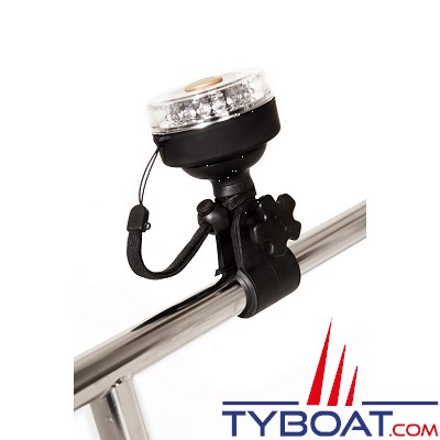 Support pince pour lampe Navi Light - montage sur tube Ø 25 mm