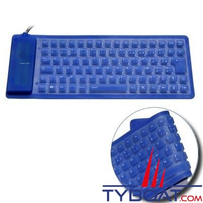 Navsound - Clavier souple Azerty 85 touches - Silicone - IP67