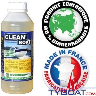 nettoyant multi usage clean boat 1 l clean boat ar008 tyboat com. Black Bedroom Furniture Sets. Home Design Ideas