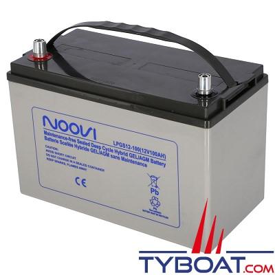 Noovi - Batterie Hybrid GEL/AGM - 12 Volts 100 Ampères