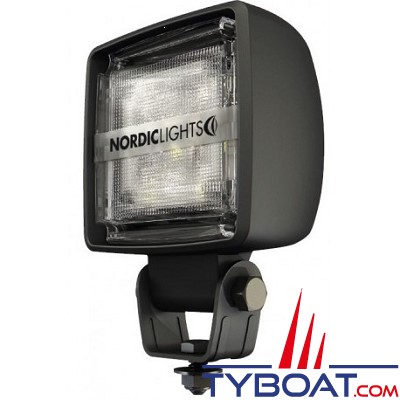 Nordiclights -  Projecteur KL1002 - LED 24W - 1500 lumens - 12/24V