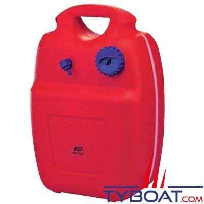 Nourrice carburant Plastimo polyethylène avec réserve de sécurité et jauge 22L