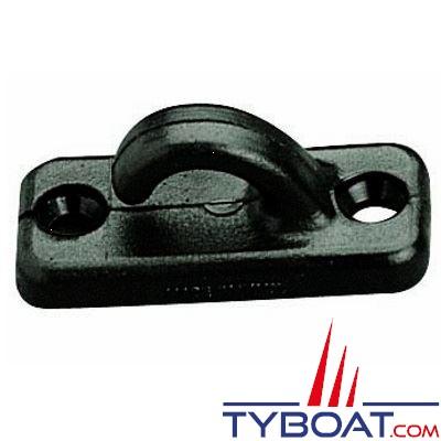 Filoir crochet ouvert polyamide - noir - 5 pièces
