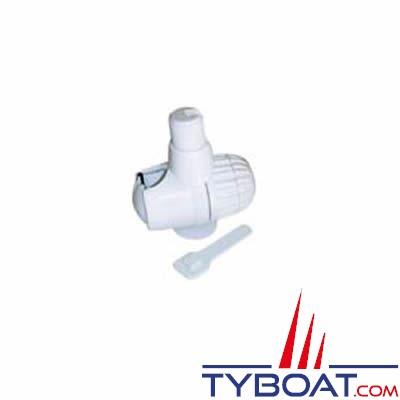 Support antenne nylon pour tube Ø 18 à 27 mm filetage 1