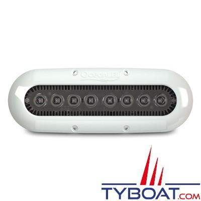 Ocean Led - Eclairage sous-marin X-Séries modèle X8 - 9-32 Volts - Blanc