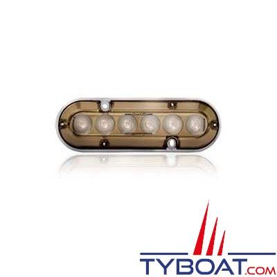 Éclairage OceanLed Amphibian A6PRO LED bleues-utilisation sous-marine uniquement - 155x50x21,5mm