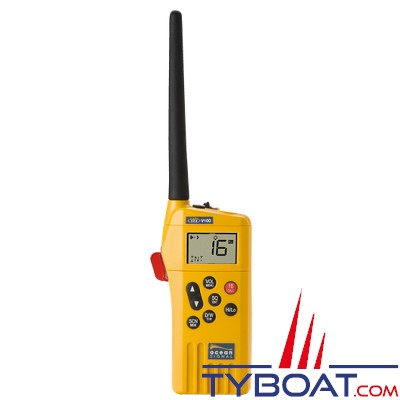 OCEAN SIGNAL - VHF V100 GMDSS (SMDSM) + pile lithium + Batterie Rechargeable + Chargeur