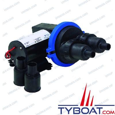 Ocean technologies - Pompe eaux usées - Supercompact à diaphragme - 20 litres/mn - 12 Volts