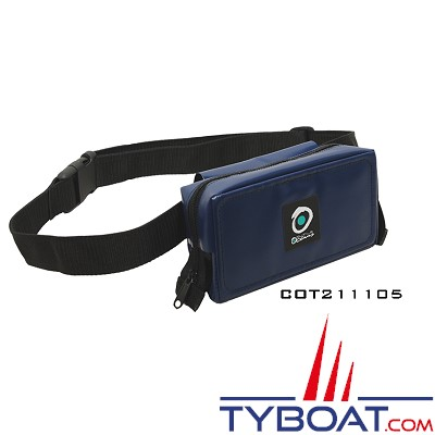Outils océans - Sacoche ceinture (amovible) - Bleue marine - 21 x 11 x 5 cm