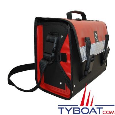 Outils océans - Sacoche outils avec rabat - Rouge - 40 x 28 x 17 cm