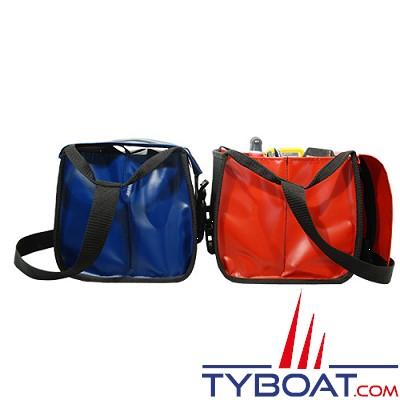 Outils océans - Sacoche outils avec rabat - Rouge - 45 x 24 x 26 cm