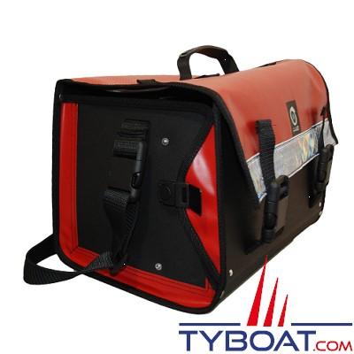 Outils océans - Sacoche outils avec rabat - Rouge - 45 x 28 x 26 cm