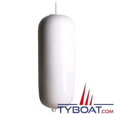 Majoni - Pare-battage à cordage traversant blanc Ø 30 cm x L 80 cm