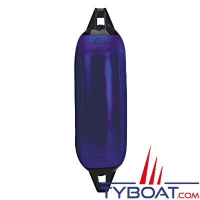 Pare-battage Plastimo embouts renforcés Ø 12 cm x L 48 cm bleu et noir pour bateaux jusqu'à 7m.