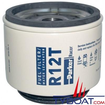 PARKER Racor - Cartouche RT12T 10µ pour filtre 120AP