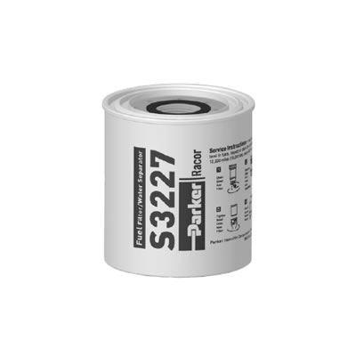 PARKER Racor - Élément filtrant de rechange S3227 pour filtre essence 320R-RAC-01 10µ