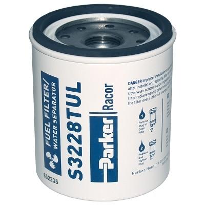 PARKER Racor - Élément filtrant de rechange S3228TUL pour filtre essence 320R-RAC-02 10µ