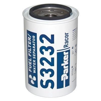 PARKER Racor - Élément filtrant de rechange S3232 pour filtre essence 660R-RAC-01 10µ