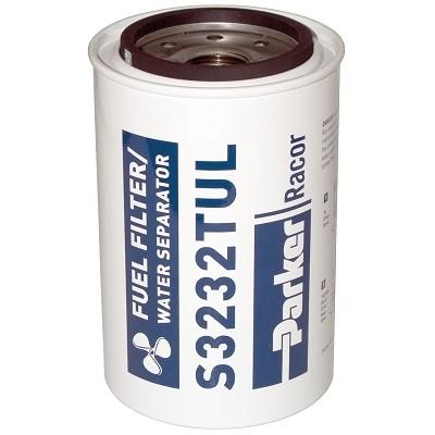 PARKER Racor - Élément filtrant de rechange S3232TUL pour filtre essence 660R-RAC-02 débit 341L/h 10µ