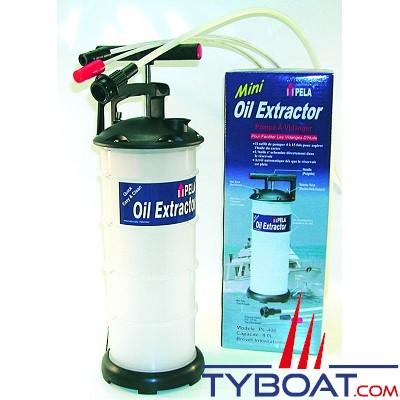 Pela  - Pompe de vidange manuelle par dépression capacité  6 litres