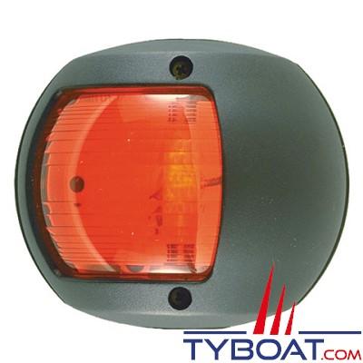 PERKO - 0170 SERIES - Feu de navigation - Bâbord rouge - Noir - Montage latéral