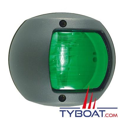 PERKO - 0170 SERIES - Feu de navigation - Tribord vert - Noir - Montage latéral