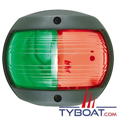 PERKO - 0170 SERIES - Feu de navigation Bi-color - Rouge/Vert - Noir - 12 Volts